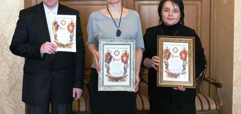 Сотрудникам центра «Царский» вручены благодарственные грамоты СПГ