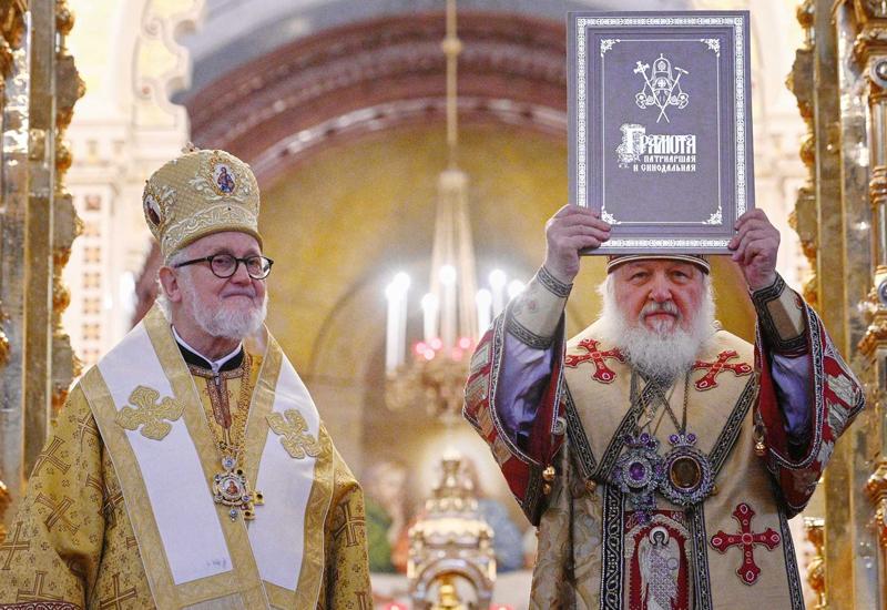 Восстановление единства Архиепископии западноевропейских приходов с РПЦ
